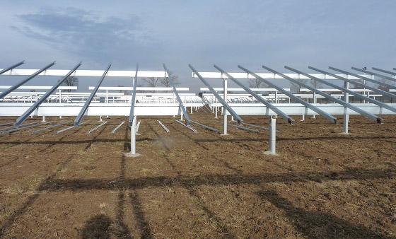 Металоконструкції для сонячних електростанцій